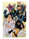Secret Invasion: X-Men No1 Cover: X-23 and Emma Frost