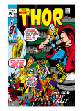 Thor No181 Cover: Thor and Balder