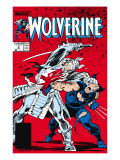 Wolverine No2 Cover: Wolverine and Silver Samurai