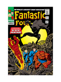 Fantastic Four No52 Cover: Mr Fantastic