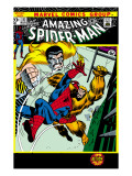 The Amazing Spider-Man No111 Cover: Spider-Man  Gibbon and Kraven The Hunter