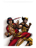 Wolverine: First Class No9 Cover: Wolverine and Shang-Chi