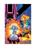 Fantastic Four V1 Cover: Galactus