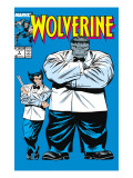 Wolverine 8 Cover: Wolverine and Hulk