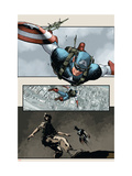 Captain America: The Chosen 5 Cover: Captain America