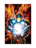 Ultimate Armor Wars No4 Cover: Iron Man