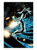 Silver Surfer No12 Cover: Silver Surfer