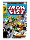 Iron Fist 14 Cover: Iron Fist and Sabretooth