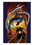 Ultimate Spider-Man 57 Cover: Spider-Man and Doctor Octopus