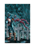 Captain America & The Falcon No14 Cover: Captain America