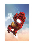 Marvel Adventures Iron Man 12 Cover: Iron Man