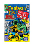 The Fantastic Four No25 Cover: Hulk