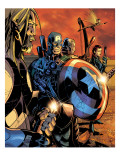 Ultimate War No3 Group: Thor and Captain America