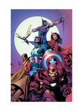 Avengers 80 Cover: Iron Man  Captain America  Vision  Scarlet Witch  Hawkeye  Wasp and Avengers