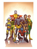 Uncanny X-Men: First Class No1 Cover: Cyclops