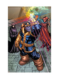What If Newer Fantastic Four 1 Group: Thanos  Death and Mephisto