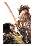 Wolverine Origins 35 Cover: Wolverine and Daken