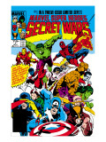 Secret Wars No1 Cover: Captain America