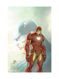 Fallen Son: The Death Of Captain AmericaNo5 Cover: Captain America and Iron Man