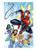 King-Size Spider-Man Summer Special No1 Cover: Spider-Man  Mary Jane Watson and She-Hulk