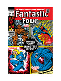 Fantastic Four No106 Cover: Mr Fantastic