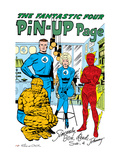 The Fantastic Four 15: Mr Fantastic  Invisible Woman  Human Torch  Thing and Fantastic Four