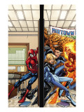 Marvel Adventures Spider-Man No39 Cover: Spider-Man  Fatastic Four