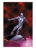 Silver Surfer No7 Cover: Silver Surfer