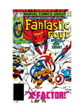 Fantastic Four No250 Cover: Gladiator