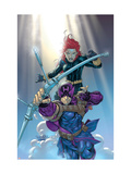 Hawkeye 8 Cover: Hawkeye and Black Widow