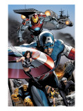 Ultimate Power No6 Group: Captain America  Wasp  Iron Man  Thing  Quicksilver and Shadowcat
