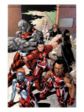 New X-Men: Hellions No1 Group: Dust  Rockslide  Wither  Mercury and Tag