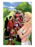 New X-Men: Hellions No4 Group: Dust  Mercury  Hellion  Rockslide  Tag  Emma Frost