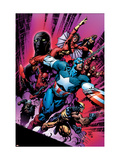 New Avengers 12 Cover: Captain America