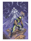 Weapon X No23 Cover: Wolverine and Agent Zero