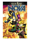 Nova No34 Cover: Nova and Sphinx