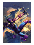 House Of M 4 Cover: Hawkeye