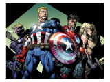 Ultimatum No3 Group: Captain America  Hawkeye  Iron Man and Valkyrie