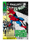 The Amazing Spider-Man 65 Cover: Spider-Man Charging
