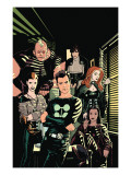 X-Factor No1 Cover: Madrox  Strong Guy  Wolfsbane  Siryn  Rictor and Monet