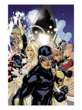 Uncanny X-Men 505 Cover: Cyclops  Emma Frost and Dazzler
