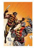 Wolverine First Class 21 Cover: Colossus and Wolverine