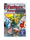 The Fantastic Four No17 Cover: Mr Fantastic