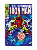 The Invincible Iron Man 1 Cover: Iron Man