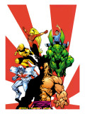 The Official Handbook Of The Marvel Universe Teams 2005 Group: Sunfire