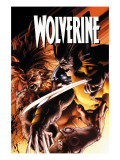 Wolverine 51 Cover: Wolverine and Sabretooth