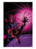 What If Thor No1 Cover: Thor and Galactus