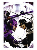 Dark Reign: Hawkeye No2 Cover: Hawkeye and Bullseye