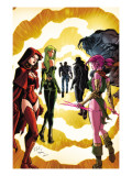 Exiles No3 Cover: Scarlet Witch  Polaris and Blink