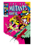 New Mutants Annual No2 Cover: Magik